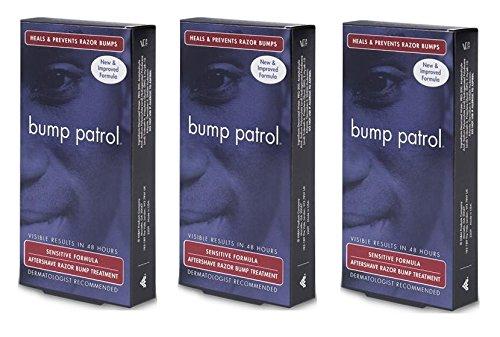 Shave Original Formula Treatment ([Pack of 3] Bump Patrol Sensitive Formula Aftershave Razor Bump & Burn Treatment 2 oz. New and Improve Formula)