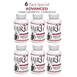 6 Pack Hair Vitamins for Fast Hair Growth Hair Formula 37 Advanced Best Value on Vitamins for Hair Skin Nails Review