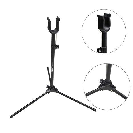 Amazoncom Zshjg Archery Recurve Bow Stand Folding Bow Holder Rack