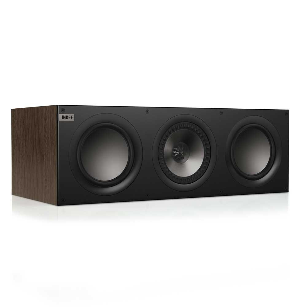KEF Q600CW Center Channel Loudspeaker - American Walnut (Single) by KEF