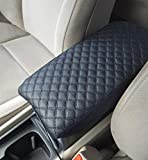 corolla console cover - Toyota Corolla Synthetic Leather Car Auto Center Armrest Console Box Lid Cover Protector B