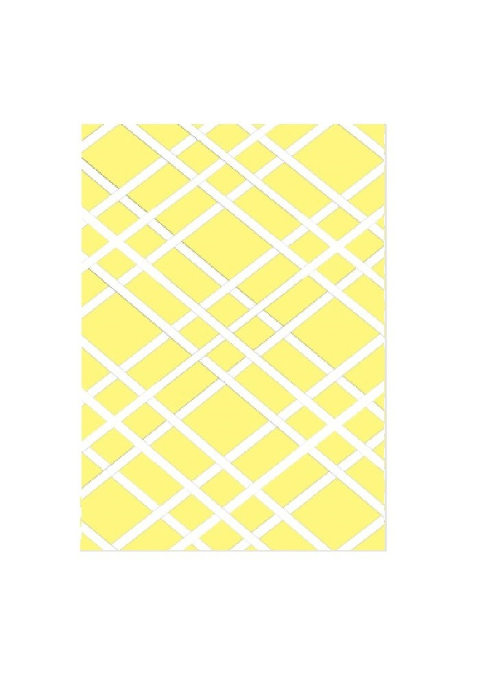 Bulletin-Memo Board and Picture Frame: Yellow and White (Small (15'' x 20'')) by Frame-For-All