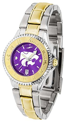 Kansas State Wildcats Competitor Two-Tone AnoChrome Women's Watch