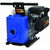AMT Pump 4222-V5 Engine Driven AG/Dewatering Pump with Briggs & Stratton Engine, Cast Iron, 4 HP, Curve B, 2 ...
