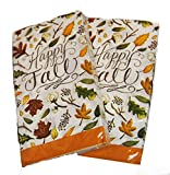 Autumn Leaves Buffet Napkins Guest Towels 40 Count (Happy Fall)