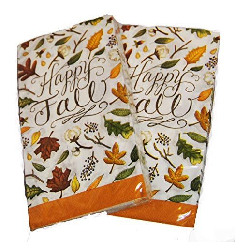 Autumn Leaves Buffet Napkins Guest Towels 40 Count (Happy Fall) by Party Now