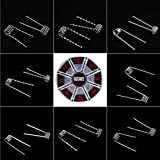 Prebuilt Kanthal Resistance Wire Coils Set 8 Different Types 48pcs - for Home Use
