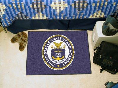 Rugs Military Fanmats Starter (Fan Mats USCG Academy Bear Starter Rug, 20