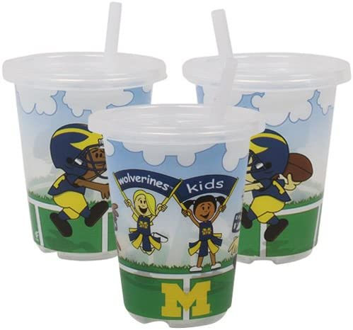 Michigan Wolverines to-go Sippy Cup 3- Pack