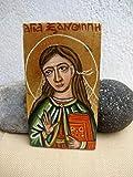Saint Xanthippe of Spain catholic gift spanish Santa Miniature