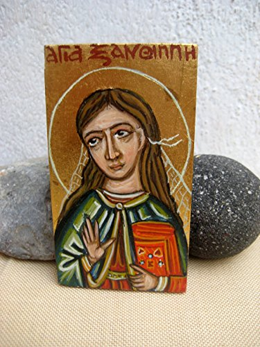 Saint Xanthippe of Spain catholic gift spanish Santa Miniature by Angelicon