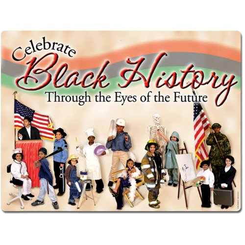 Black History Sign Party Accessory (1 count)