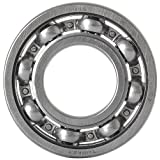 ORS 6004 C3 Deep Groove Ball Bearing, Single Row, Open, Steel Cage, C3 Clearance, ABEC 1 Precision, 20mm Bore, 42mm OD, 12mm Width