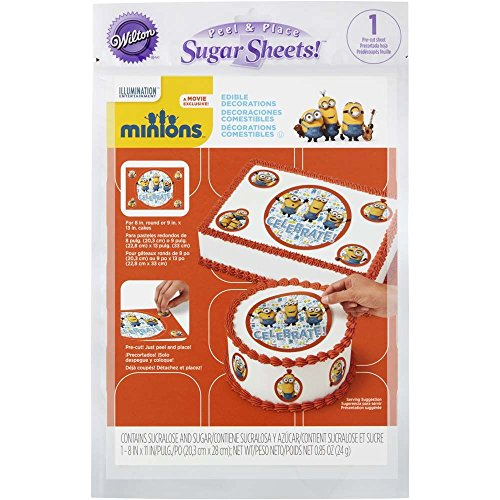 Large Edible Cake Decoration Kit (sugar sheets) -