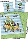 Die Olchis Bettwäsche Olchi-Kinder -exklusiv- 135x200cm, 100% Baumwolle