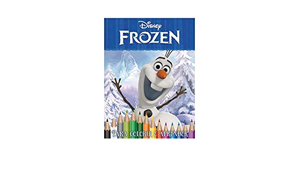 Frozen Olaf Disney Caixa Com 5 Em 1 Dvd Jefferson Ferreira