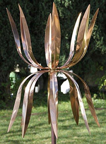 Stanwood Copper Kinetic Wind Sculpture - Dancing Octopus
