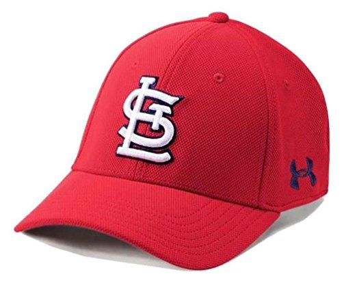 Under Armour UA Men's St. Louis Cardinals MLB Adjustable Blitzing Baseball Cap