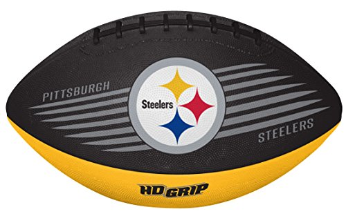 (Rawlings NFL Pittsburgh Steelers 07731082111NFL Downfield Football (All Team Options), Yellow, Youth)
