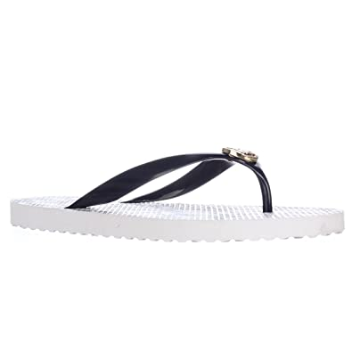 808c86c3a657 Image Unavailable. Image not available for. Color  Michael Kors Michael  Kors Flip Flops Jet Set ...