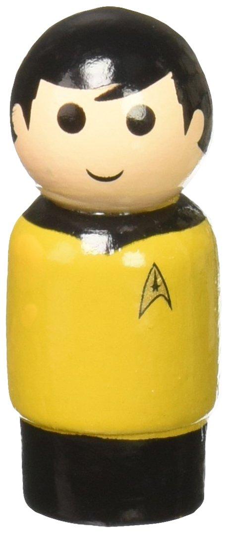 Star Trek The Original Series Lieutenant Hikaru Sulu Pin Mate Wooden Figure EE Distribution BBP16914 Pin Mates Bif Bang Pow