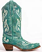 Corral Boots Women's R1973 Turquoise 9 B US