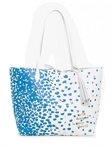 Desigual BOLS_CAPRI Salada, Bolsa de Medio Lado para Mujer, 13x28x30 cm (B x H x T) Varios colores