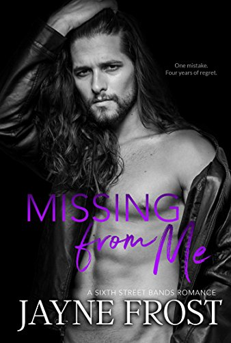 Missing From Me: Rockstar Romance (Sixth Street Bands Book 3) by [Frost, Jayne]
