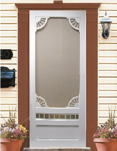 Victorian Door Screen (Vinyl Screen Door Dakota (32x80))
