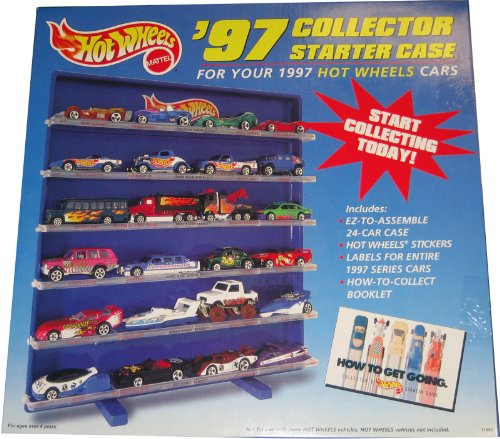 Hot Wheels '97 Collector Starter Case for 1997 Hot Wheels Cars (Cars Stickers Hot Wheels)