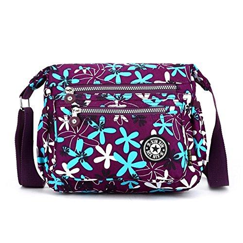 Hipytime BHB880405C6 Fashionable Nylon Leisure Women's Handbag,Square Cross-Section Small Square - Macys Victoria Gardens