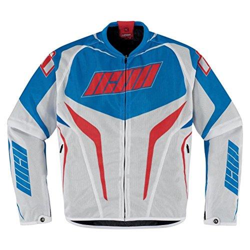 Icon Hooligan Street Riding Jersey Convertible Mesh Jacket 2013 Patriot L/Large