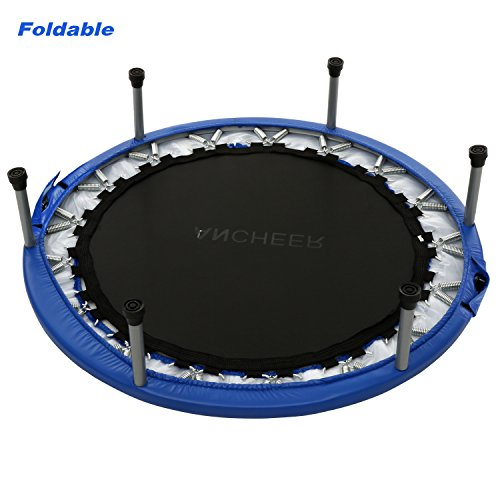 ancheer 38inch and 40inch trampoline indoor garden trampoline maximum load 150 kg 6 8 sturdy. Black Bedroom Furniture Sets. Home Design Ideas