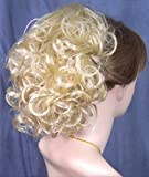 PHOEBE Clip On Hairpiece by Mona Lisa - 613 Bleach Blonde