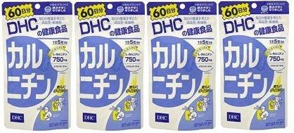 【便】DHC カルニチン 60日分(300粒)×4個セット B00JW55LOO