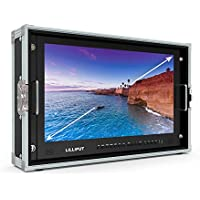 LILLIPUT BM230-4K 23.8 4K 3840×2160 Ultra-HD resolution, 1000:1 Contrast Ratio, 25ms Response Time with Carry-on Metal case 3G-SDI, HDMI, VGA, AV input by VIVITEQ