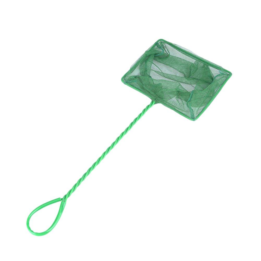 Vi.yo Red de malla para acuario (metal, mango largo, para peceras Betta) verde 2 27.5*11*13CM
