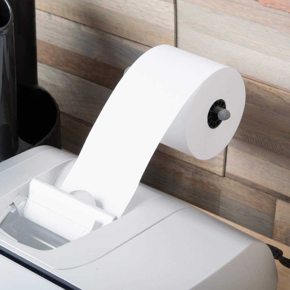 1InTheOffice Cash Register and Point of Service Printer Paper 3 Inch X 128 Foot 10 Rolls