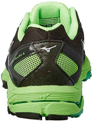 4 Mujin De Zapatillas Running Para Wave Hombre Verde Mizuno gE5qUn