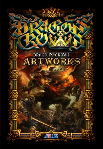 dragons-crown-official-atlus-artbook-64-pages-beautiful-limited-bonus-new
