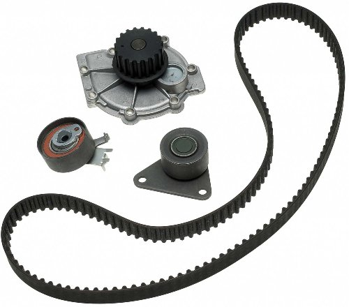 Pump Idler Water (ACDelco TCKWP331 Professional Timing Belt and Water Pump Kit with Tensioner and Idler Pulley)