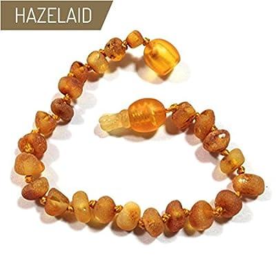 "Hazelaid (TM) 5.5"" Pop-Clasp Baltic Amber Caramel Bracelet"