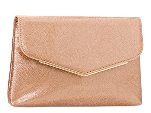 Women's LeahWard Purse Clutch Bags Party Clutch Cross Bag Evening Prom Pink 454 Body FUdwqBxU