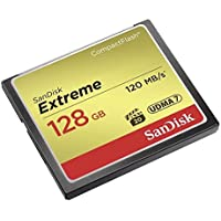 SanDisk Extreme 128GB CompactFlash Memory Card (SDCFXSB-128G-G46)