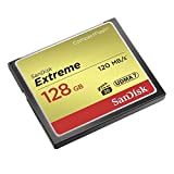 SanDisk Extreme CompactFlash UDMA7 128GB bis zu 120MB/Sek Speicherkarte