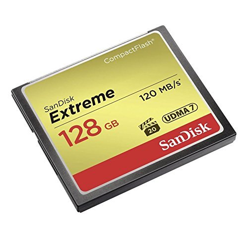 SanDisk Extreme CompactFlash Memory SDCFXSB 128G G46