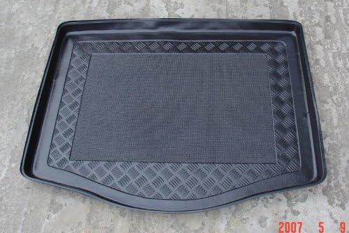 Noir Antid/érapant Textile-Deluxe 80008024 C-Max Mono 5 s Haut 2003-2010 Bac de Coffre Antid/érapant