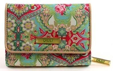 Oilily Summer Mosaic S - Cartera estampada, color verde ...