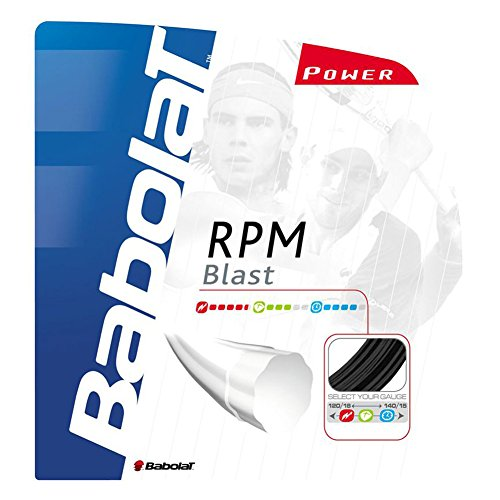 Used, Babolat RPM Blast (18-1.20mm) Tennis String Set for sale  Delivered anywhere in USA