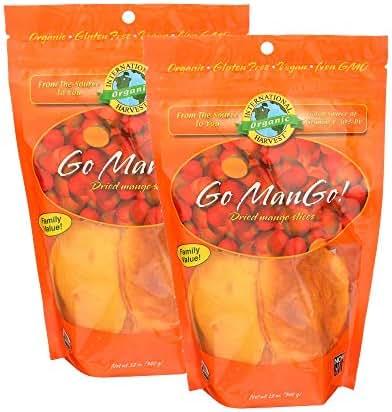 Dried Fruit & Raisins: International Harvest Go ManGo
